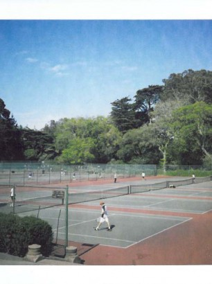 tennis courts in golden gate park